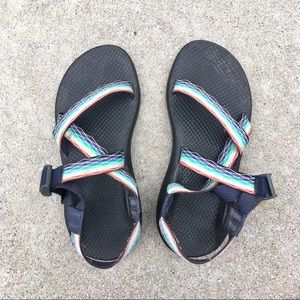 Chacos rainbow women's walking sandals sporty sz 8